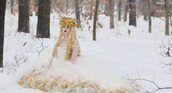18-летняя девушка шьет фантастические платья, которым место в сказочных мультфильмах…