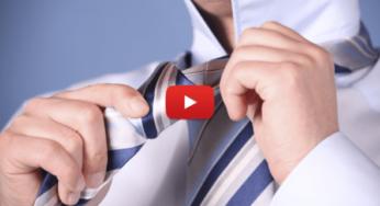 Восхитительно! 3 простых способа завязать галстук