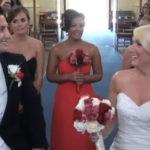 эпичное появление на свадьбе
